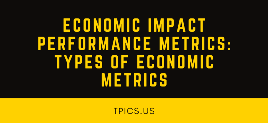 Economic Impact Performance Metrics_ TYPES OF ECONOMIC METRICS