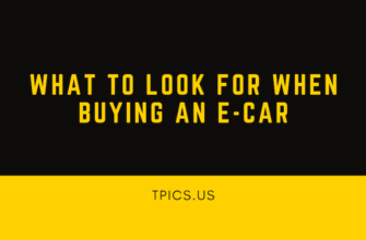 What to Look For When Buying an E-Car